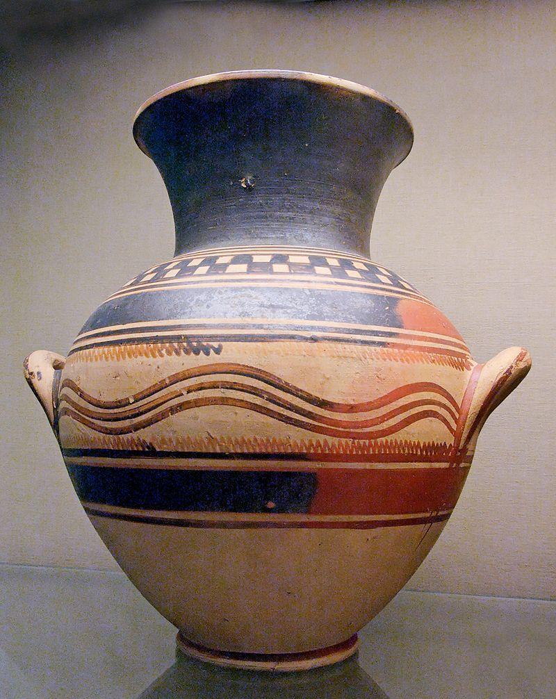 ギリシア美術 原幾何学様式アンフォラ