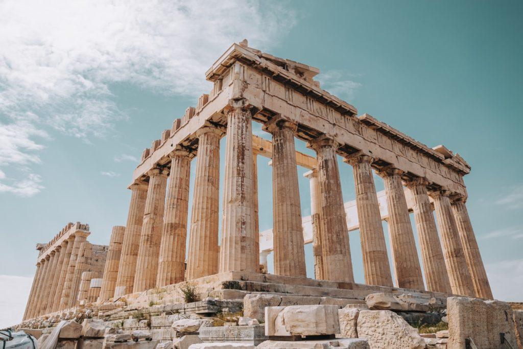 ギリシア美術 パルテノン神殿