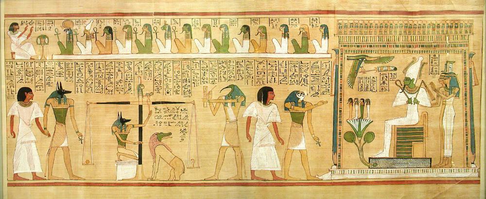 エジプトの美術 死者の書