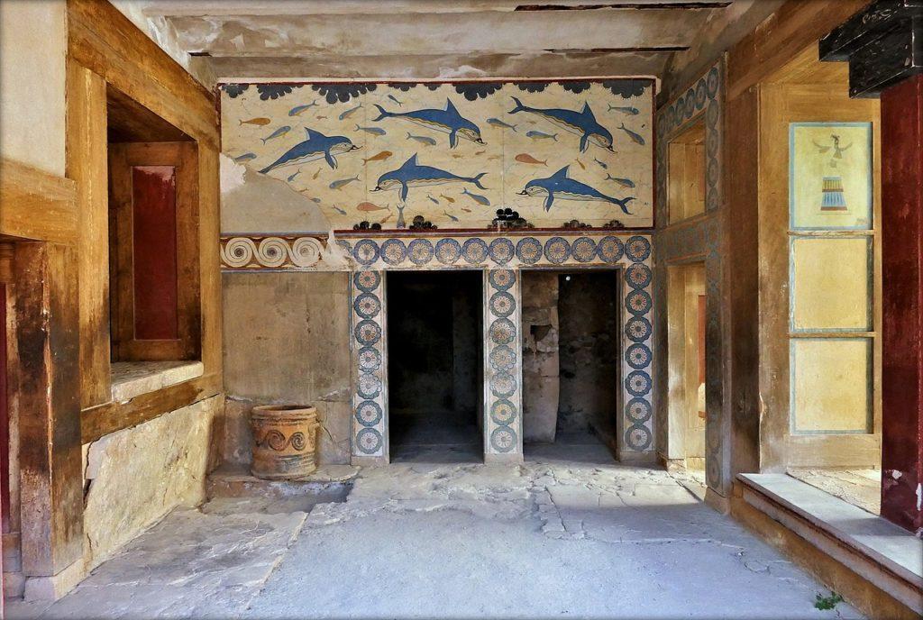クノッソス宮殿 イルカ
