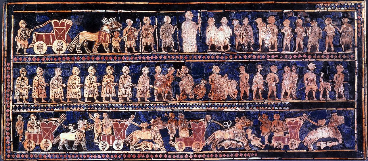 メソポタミアの美術 ウルのスタンダード
