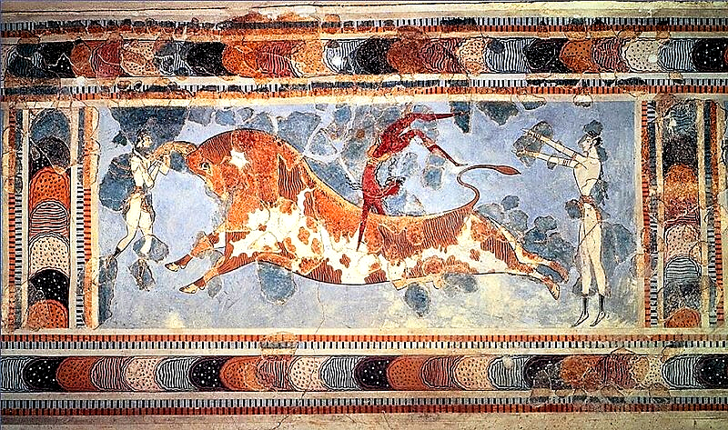 エーゲ海の美術 クノッソス宮殿