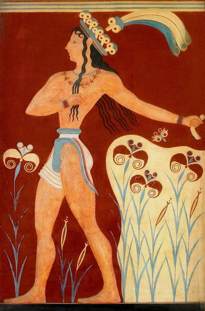 クノッソス宮殿 ユリの王子