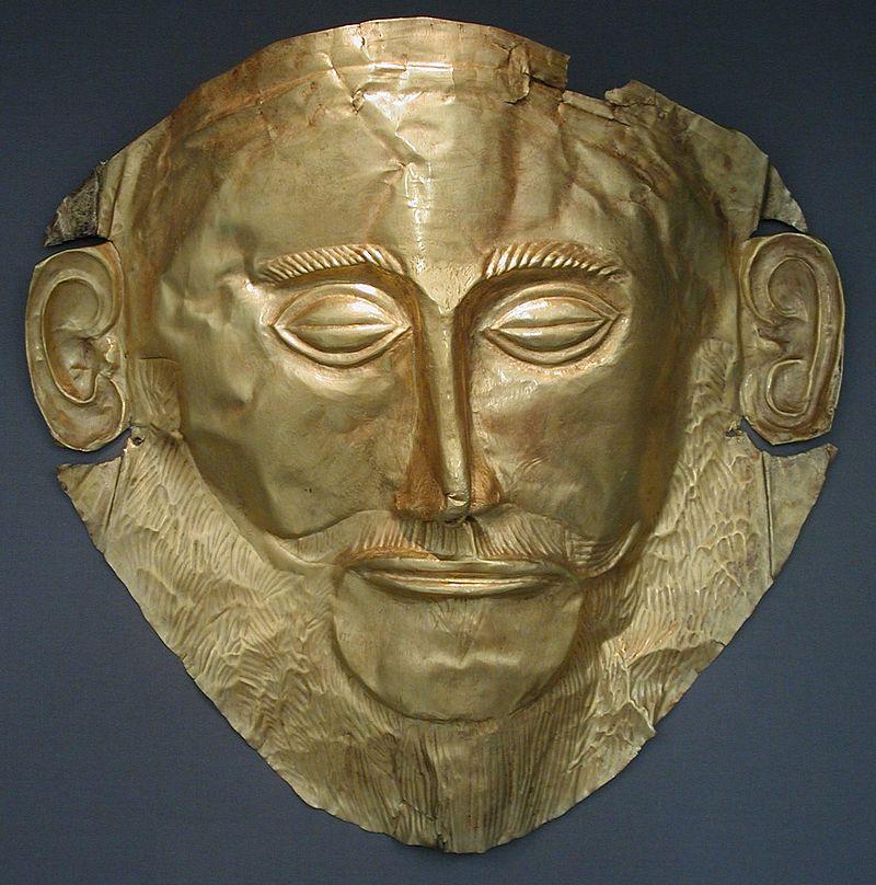 アガメムノンの黄金の仮面