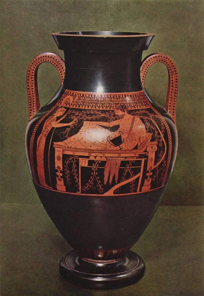 アンドキデスの画家 ヘラクレスとアテナ