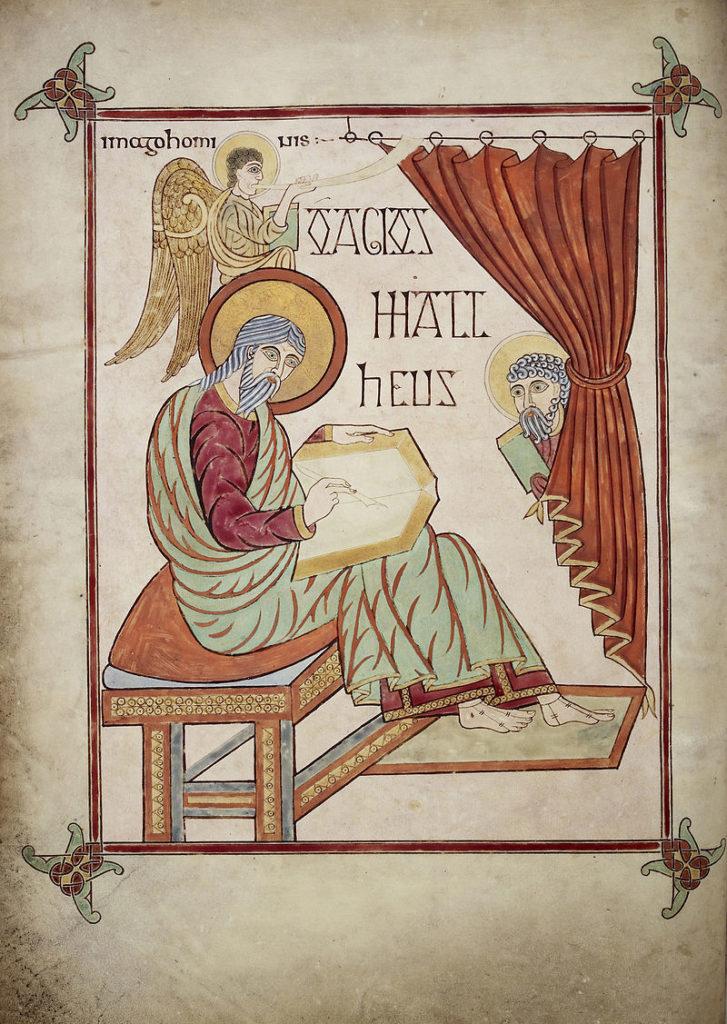 中世の美術 リンディスファーンの書