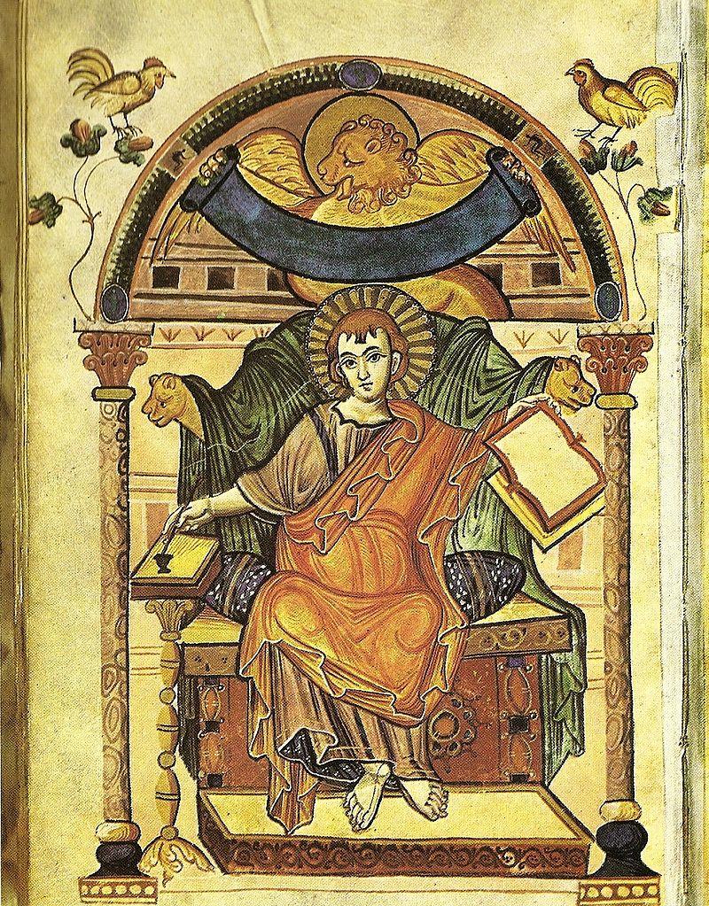 福音書記者聖マルコ像 アダの福音書