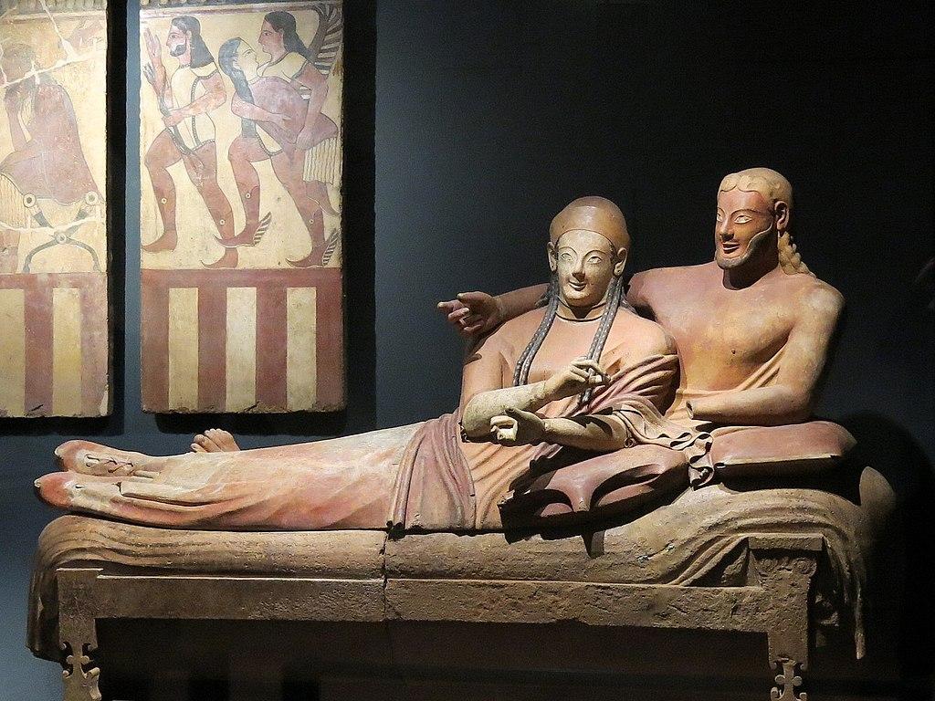 夫婦の陶棺