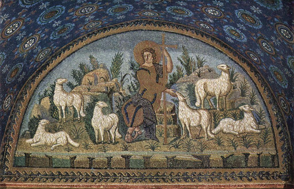善き羊飼い ガッラ・プラチディア廟堂