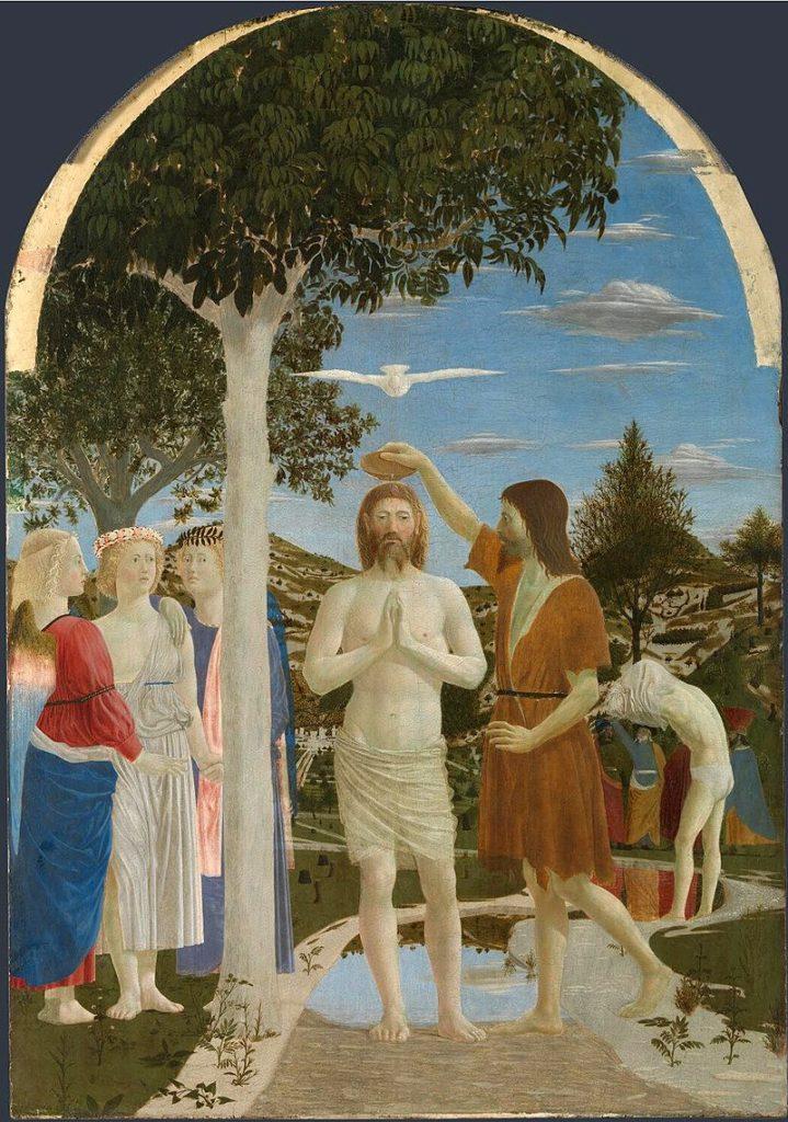 ピエロ・デッラ・フランチェスカ_キリストの洗礼