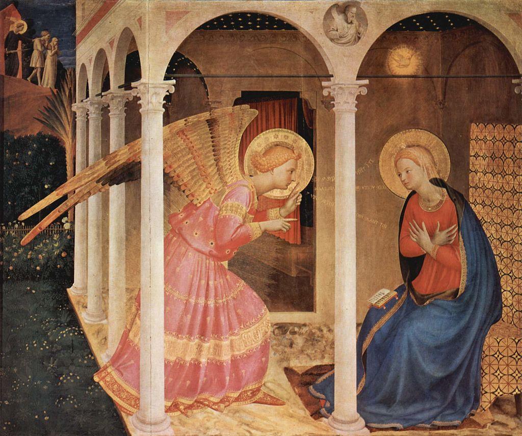 フラ・アンジェリコ 受胎告知_司教区美術館