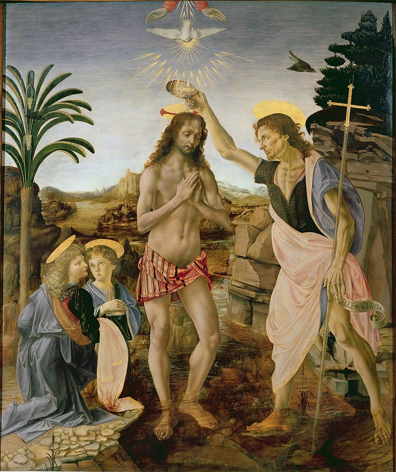 ヴェロッキオ キリストの洗礼