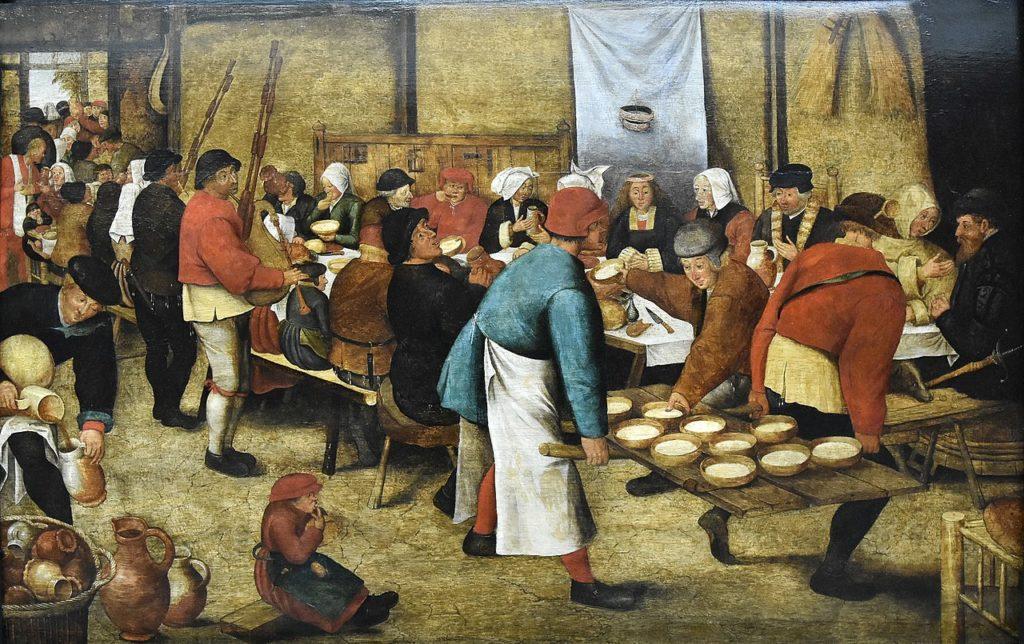 ブリューゲル 農民の結婚式