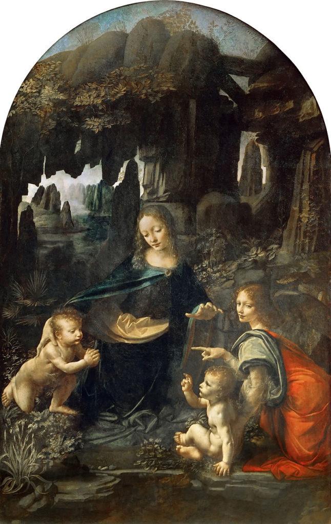 岩窟の聖母 レオナルド・ダ・ヴィンチ