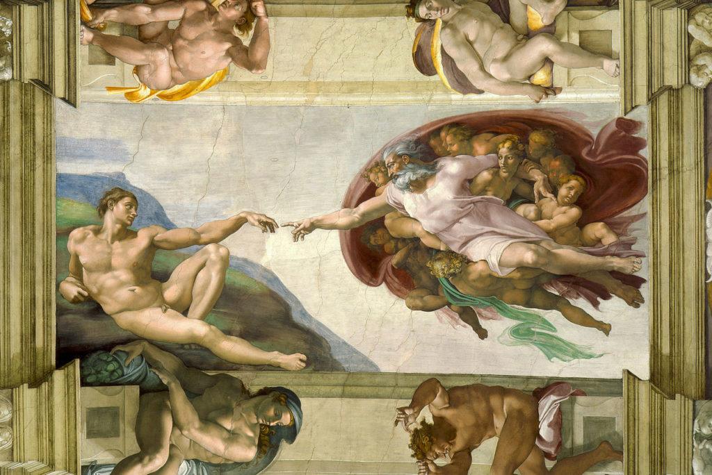 ミケランジェロ アダムの創造