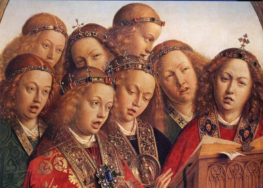 ヘント祭壇画 合唱の天使