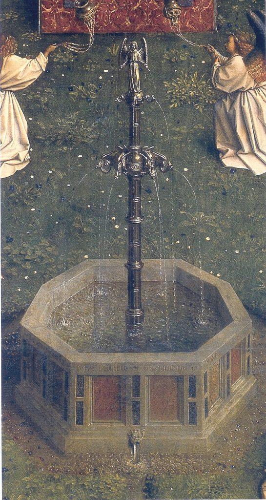 ヘントの祭壇画 生命の泉
