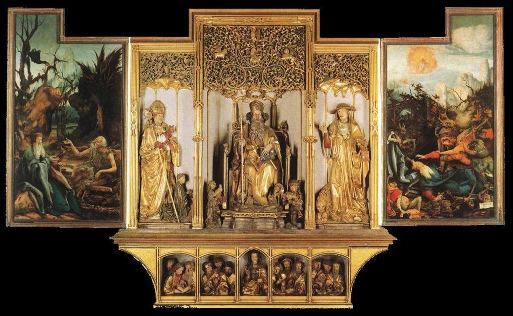 グリューネヴァルト キリストの磔刑
