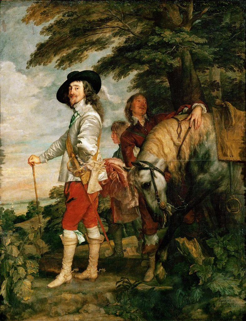 ヴァン・ダイク チャールズ1世の肖像