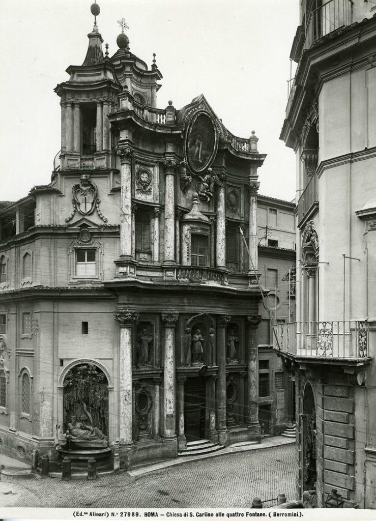 ボッロミーニ サン・カルロ・アッレ・クアトロ・フォンターネ聖堂