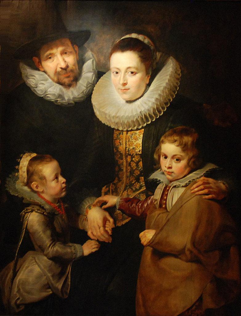 ヤン・ブリューゲルと家族の肖像