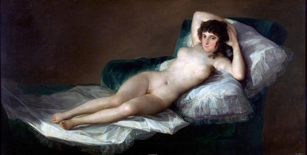 裸のマハ ゴヤ