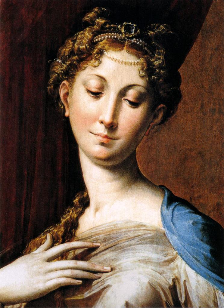 パルミジャニーノ 長い首の聖母