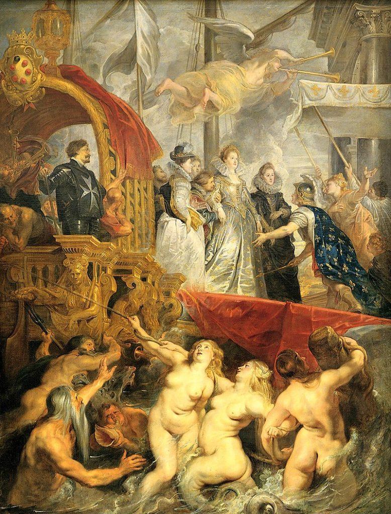 ルーベンス マリー・ド・メディシスの生涯 マルセイユ上陸