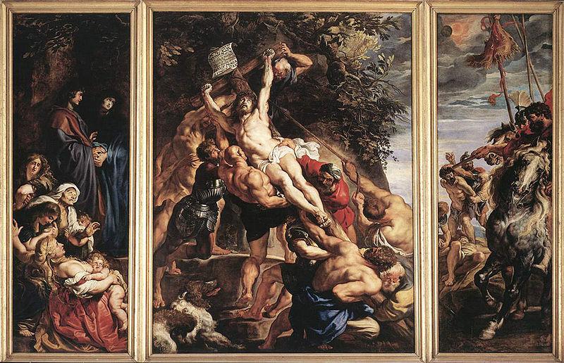 ルーベンス キリスト昇架