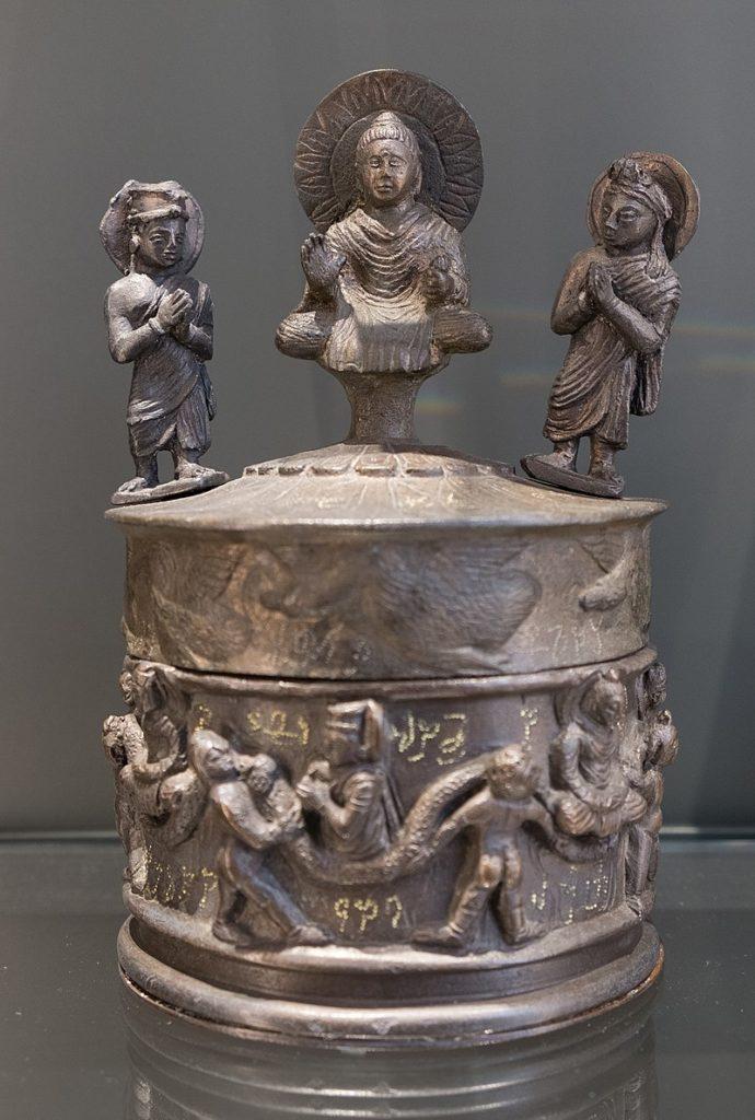 カニシュカ王舎利容器 ガンダーラ