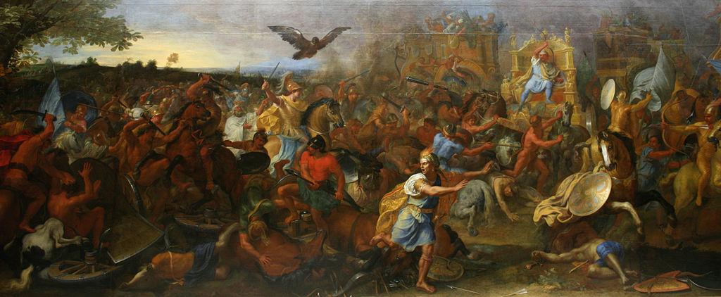 シャルル・ル・ブラン アルベラの戦い