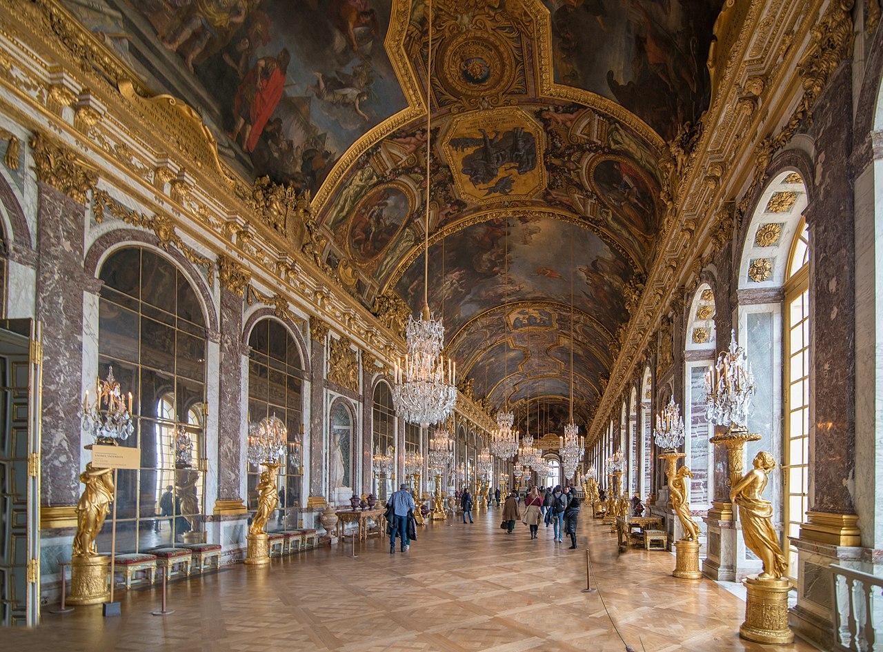 ベルサイユ宮殿 鏡の間 ル・ブラン