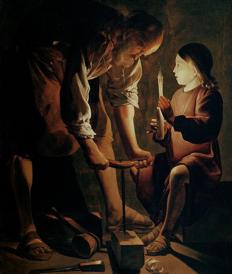 ラ・トゥール 大工聖ヨセフ