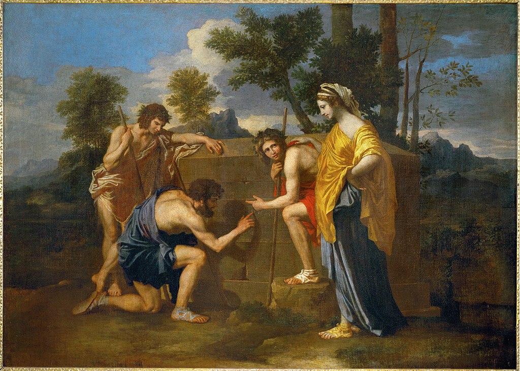 ニコラ・プッサン アルカディアの牧人たち