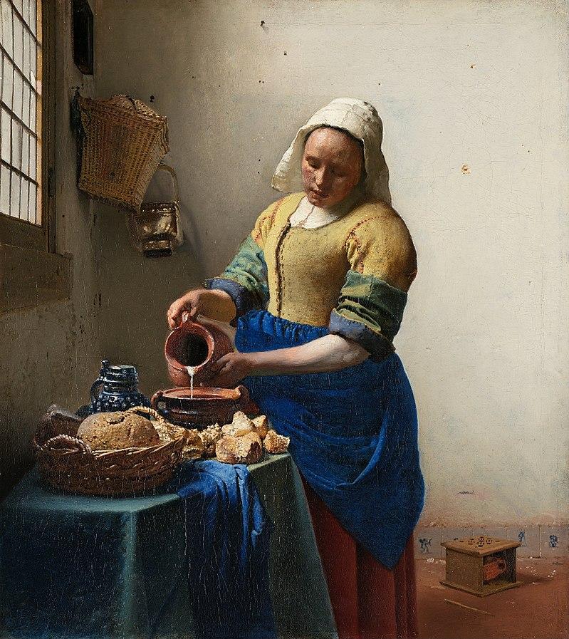 フェルメール 牛乳を注ぐ女