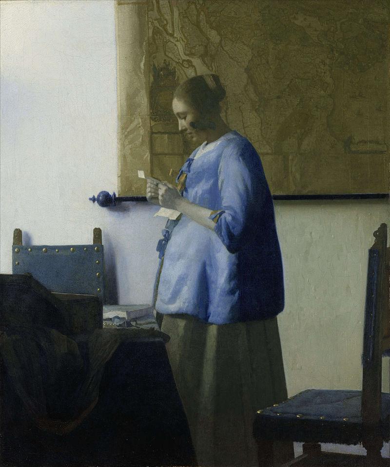 フェルメール 手紙を読む女