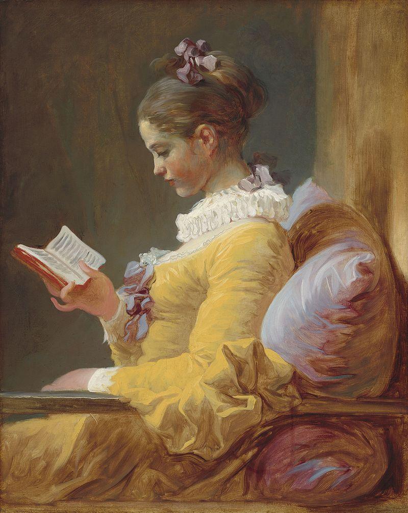フラゴナール 読書する娘