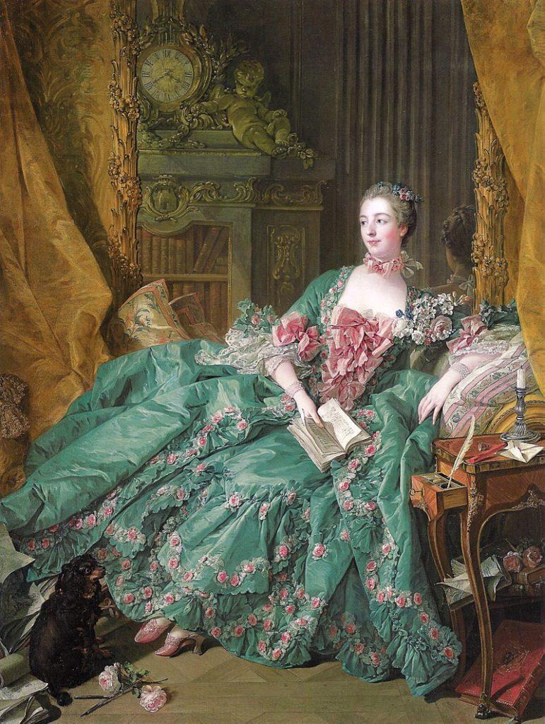 ブーシェ ポンパドゥール夫人