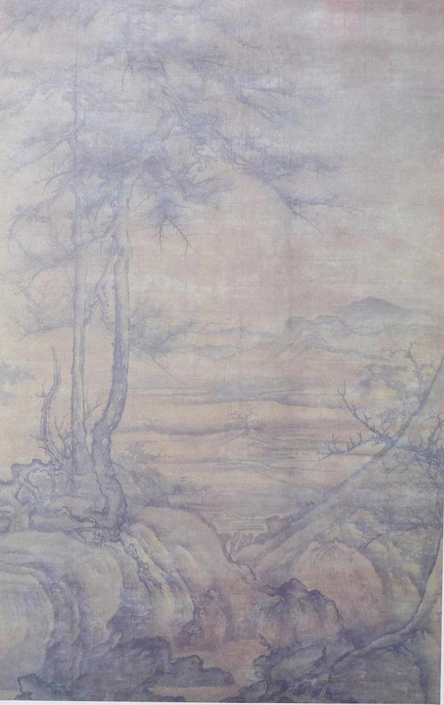 李成 喬松平遠図